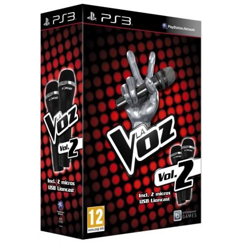 Juego / La Voz Vol 2 + Micrófonos / PS3