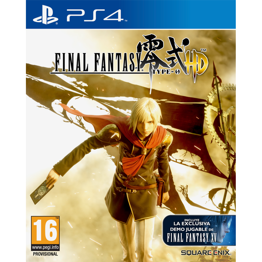 JUEGO FINAL FANTASY TYPE-0 HD PS4