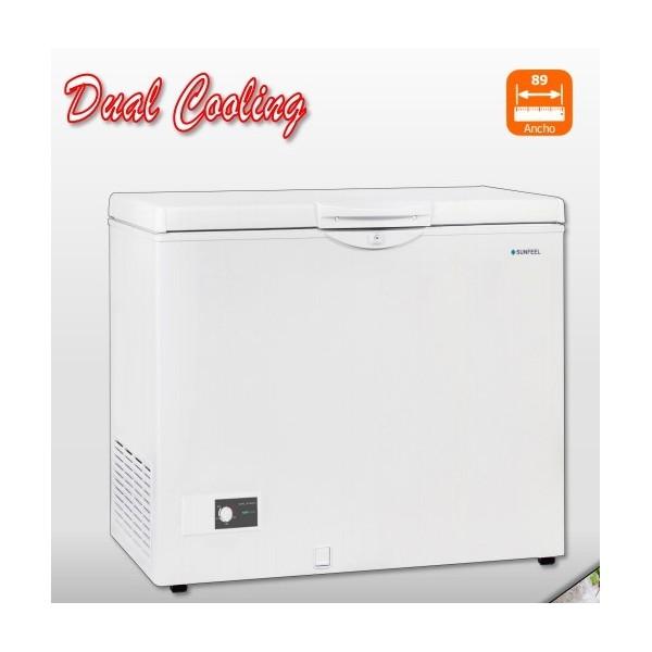 Congelador Sunfeel CA8901DC 209Lt 86x69cm Blanco