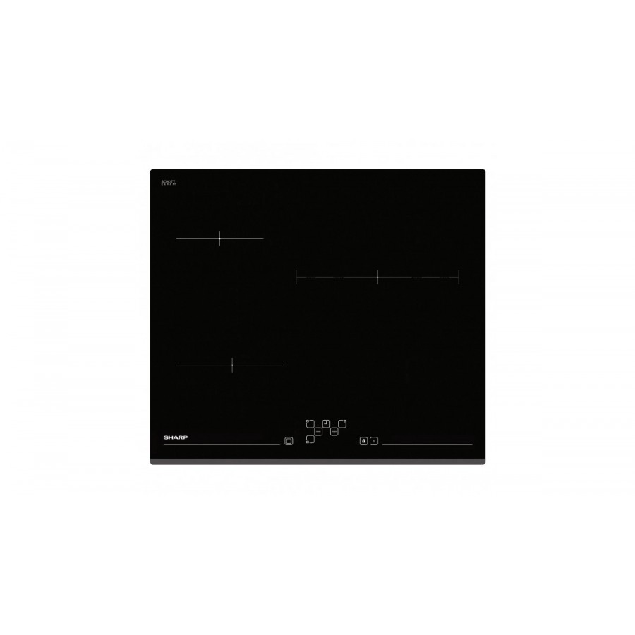 Sharp KH-6V13BS00 Negro Integrado 60 cm Con placa de inducción 3 zona(s)