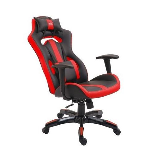 Silla Gaming Muvip MV0124 GM500 Negro Rojo