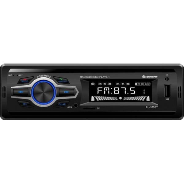 Radio de Coche Roadstar RU-375BT USB Aux BlueTooth Micrófono 4x36W