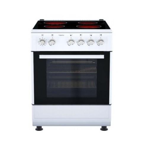 Cocina Eléctrica Telefac TFF6616VTC 4 Fuegos 60x60cm Clase A Blanca