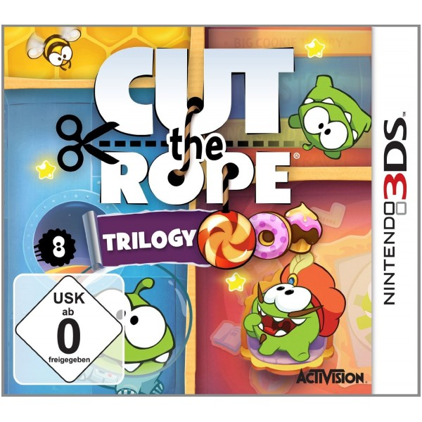 Juego / Cut The Rope Pack De 3 Juegos / 3Ds