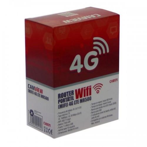 ROUTER WIFI PORTATIL CAMVIEW CV0171 4G MIFI LTE