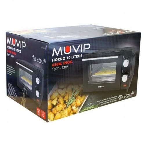 HORNO MUVIP MV0220 10L 650W BLACK/INOX