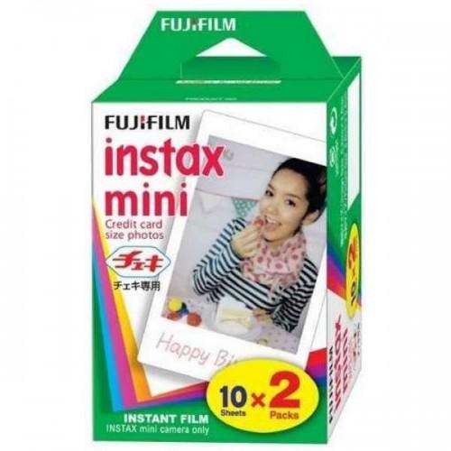 Película Fuji Instax Mini Glossy 10x2 Pack