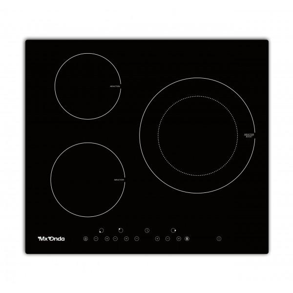 Placa Inducción Mxonda MX-PI2230  3 Fuegos 6500w