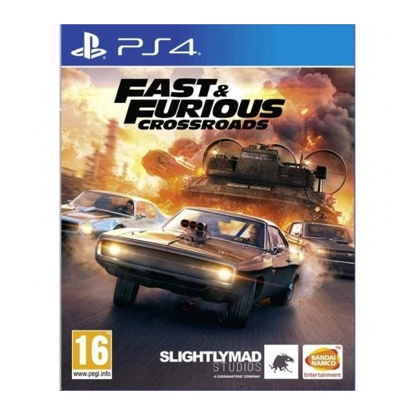 Juego Ps4 Fast & Furious Crossroads