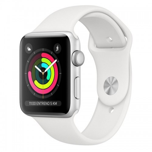 Apple Watch S3 38mm GPS Silver Sport Band White