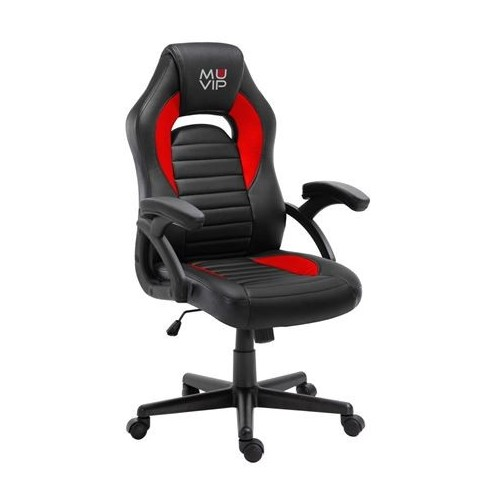 Silla Gaming Muvip MV0241 GM900 Negro/Rojo