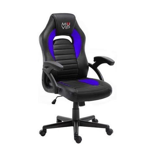 Silla Gaming Muvip MV0242 GM900 Negro/Azul