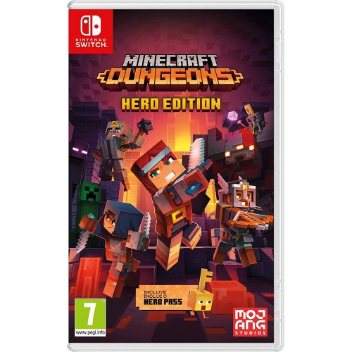 Juego Nintendo Switch Minecraft Dungeons Hero Edition