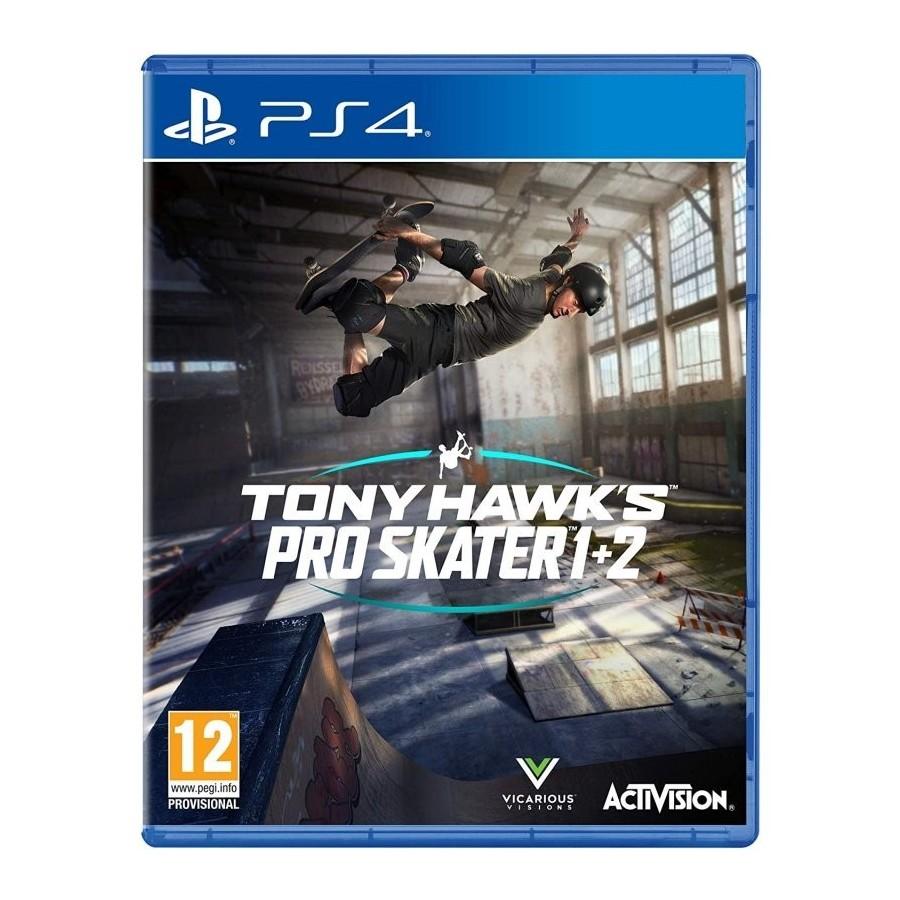 JUEGO PS4 TONY HAWKS PRO SKATE 1+2
