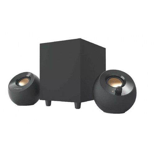 Altavoces Creative Pebble Plus 2.1 8w Black