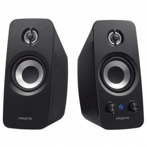 Altavoces Creative Labs T15 2.0 Bluetooth Black