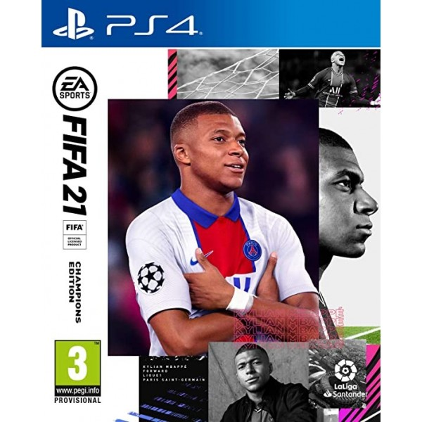 Juego PS4 Fifa 21 Champions Edition