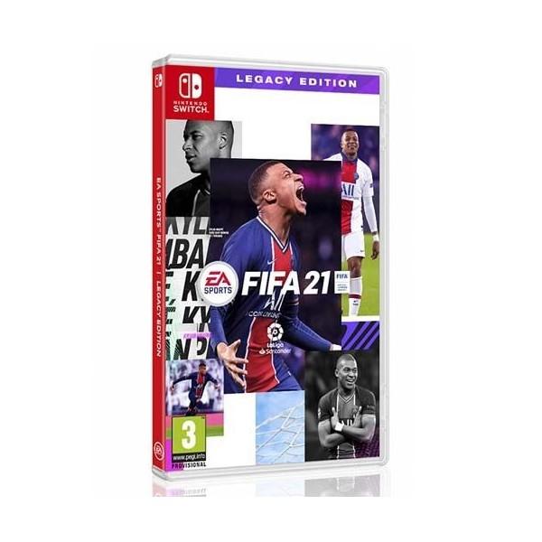 Juego Nintendo Switch Fifa 21 Legacy Edition