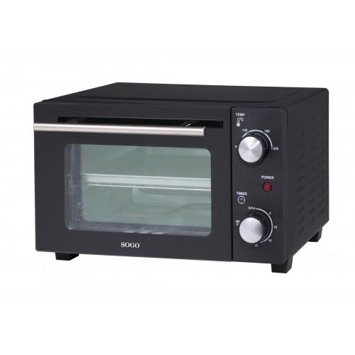 Horno Eléctrico Sogo SS-10530 10Lt 800w Negro