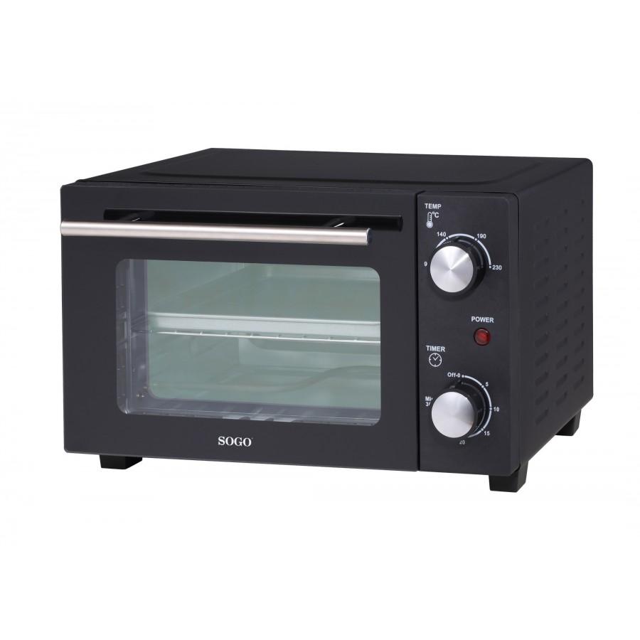 HORNO ELECTRICO SOGO SS-10530 10L 800W NEGRO
