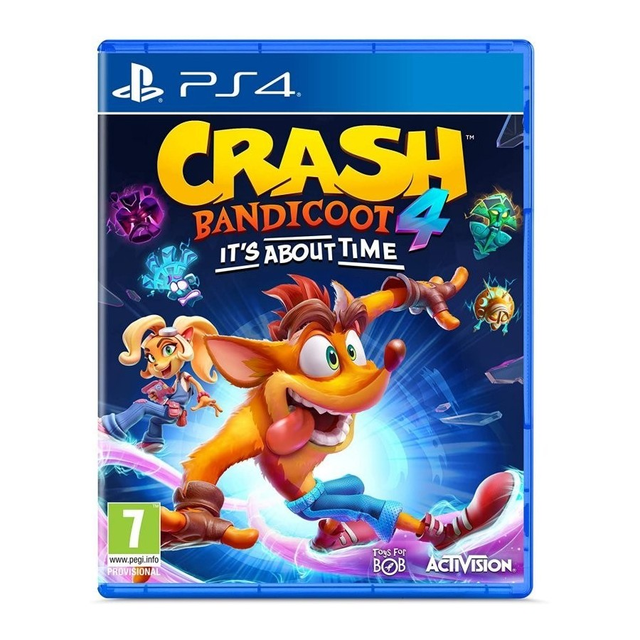 JUEGO PS4 CRASH BANDICOOT 4 ITS ABOUT TIME