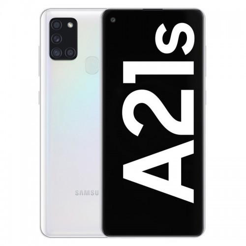 "Móvil Samsung Galaxy A21s 6.5"" 4GB 64GB DualSim White"