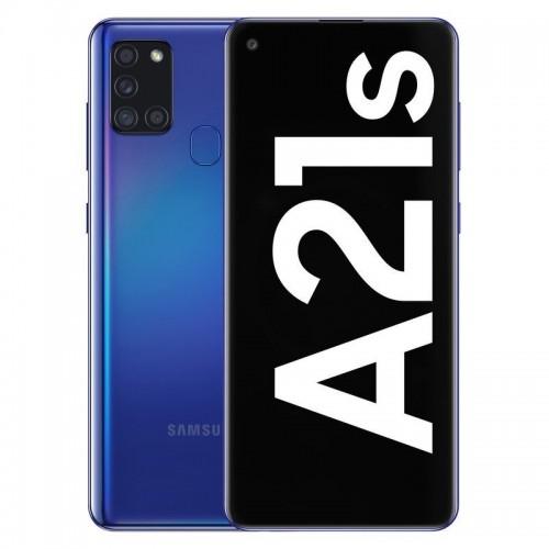 "Móvil Samsung Galaxy A21s 6.5"" 4GB 64GB DualSim Blue"