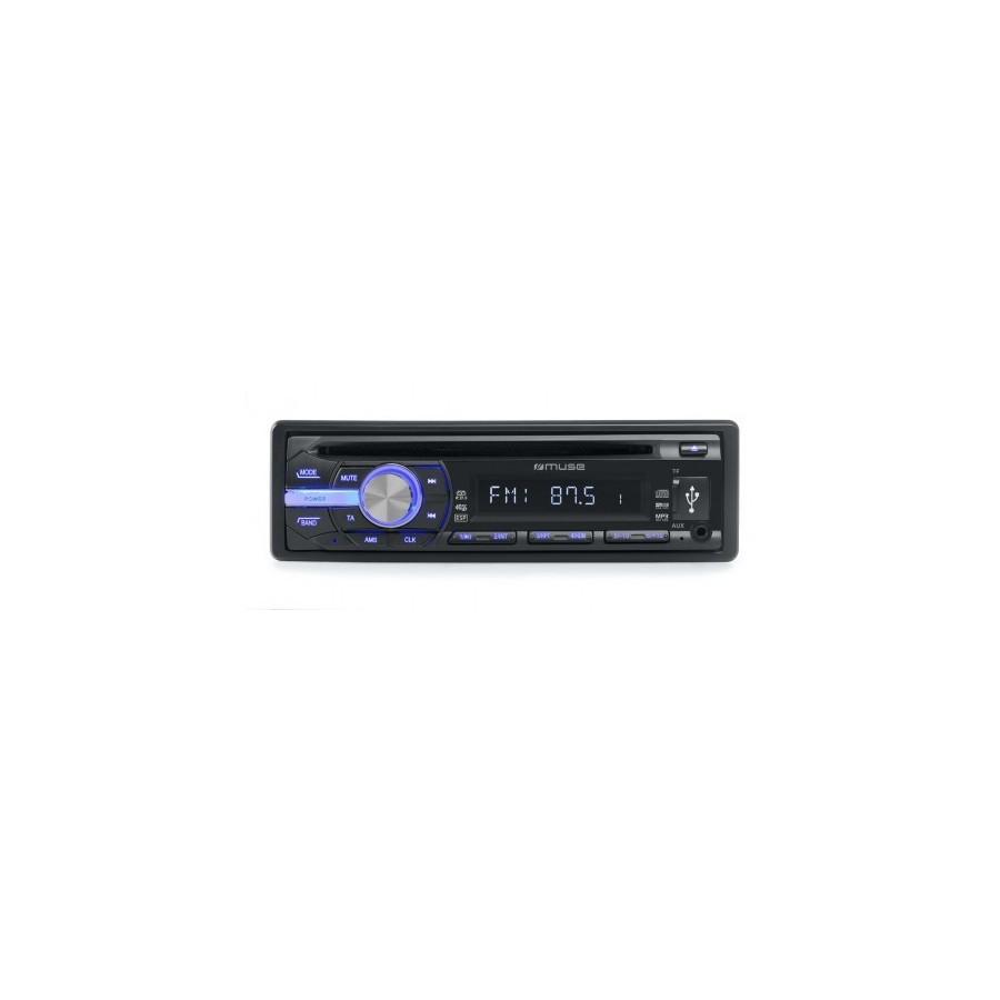 Radio Coche Muse M-1009 MR CD USB SD Aux 40Wx4