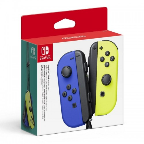 Mando Nintendo Switch Joy-Con Azul/Amarillo Neon