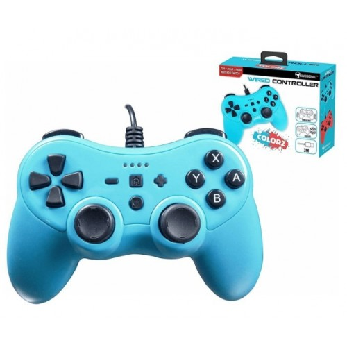 Mando Nintendo Switch Subsonic Wired 3mt Colores