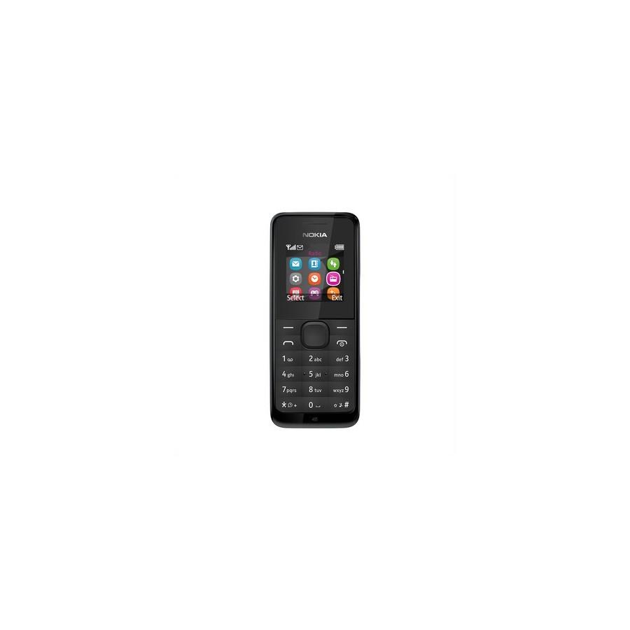 Móvil Nokia 105 / Dual Sim / Negro
