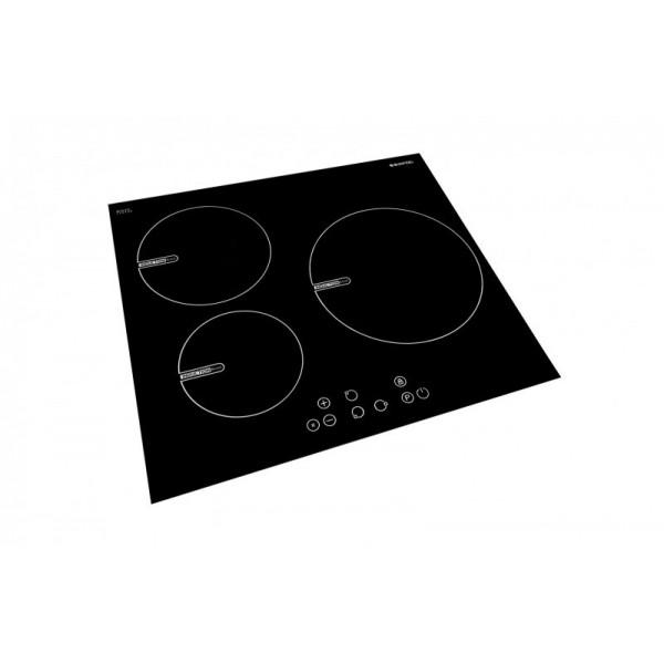 Placa Inducción Sunfeel PLINDU12 3 Fuegos Táctil
