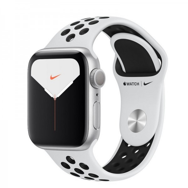 Apple Watch S5 Nike 40mm MX3R2TY/A Gps Platino Black