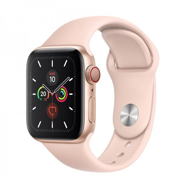 Apple Watch S5 44mm MWWD2TY/A Cellular Gold Correa Pink