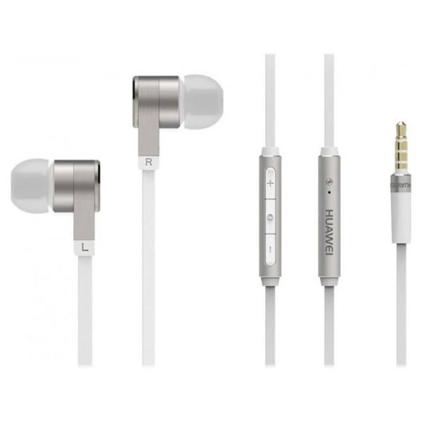 Auriculares Huawei Bass Earphones Micrófono White