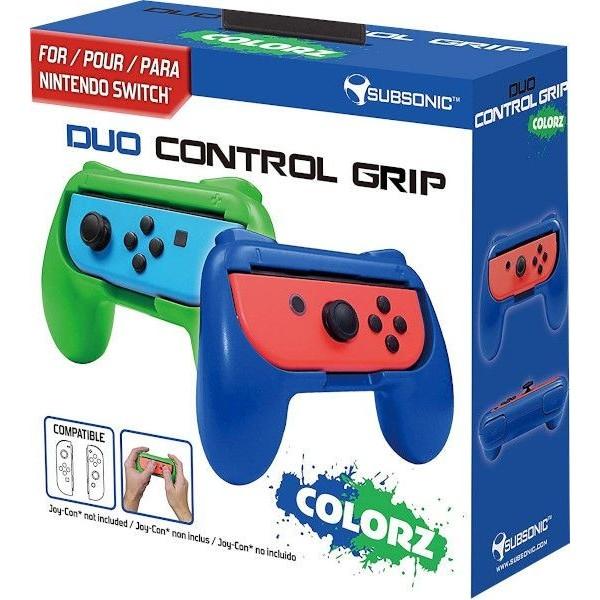 Duo Control Grip Nintendo Switch Blue/Green