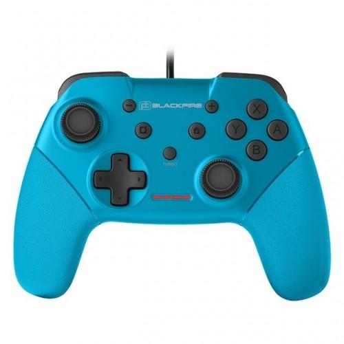 Mando Nintendo Switch Blackfire Wired Blue