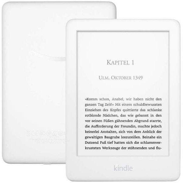 "Ebook Amazon Kindle 2019 6"" 4Gb White"