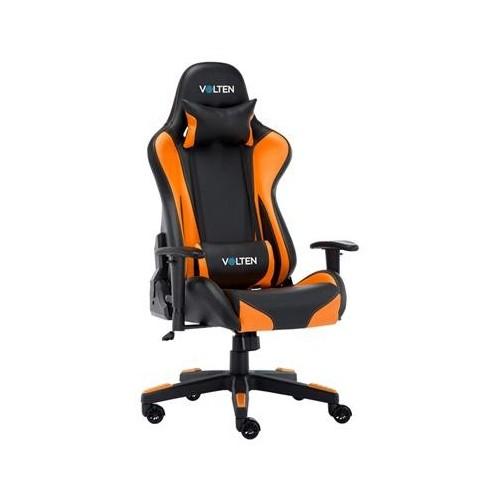 Silla Gaming Volten VL1206 VLPRO 4000 Black/Naranja