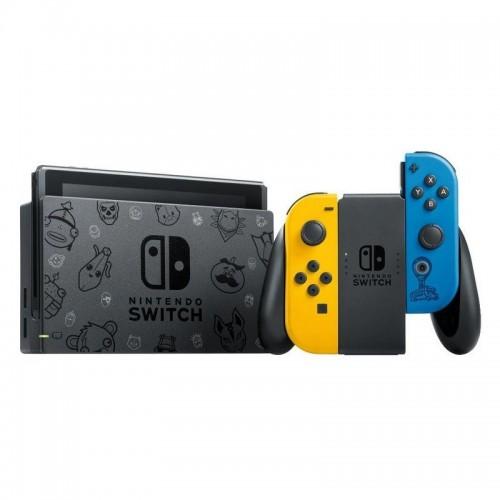 Consola Nintendo Switch Edición Fortnite + Lote Gata Salvaje +