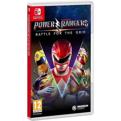 Juego Nintendo Switch Power Rangers Battle for the Grid Collector's Edition