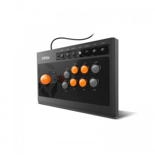 Joystick Krom Kumite Fightstick Gamepad Multiplataforma
