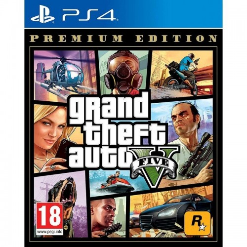 Juego Ps4 Grand Theft Auto V Premium Edition GTA V