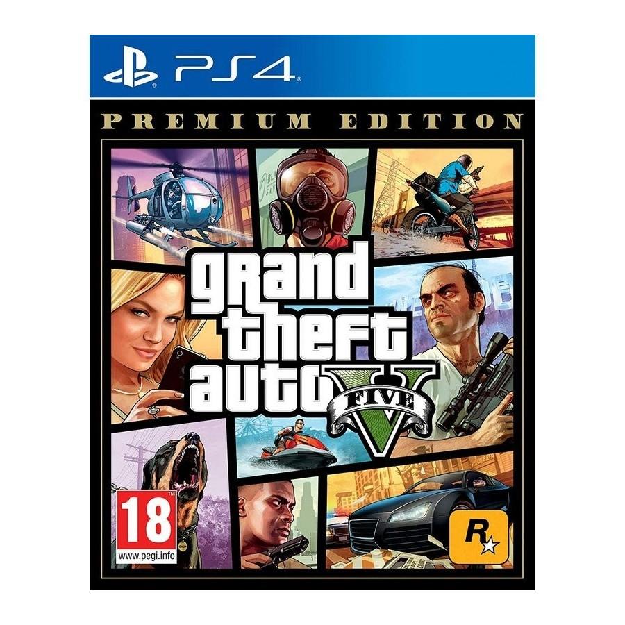 JUEGO PS4 GTA V PREMIUM EDITION