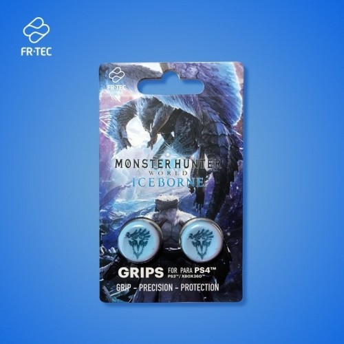 Accesorio FR-TEC Ps4 Grips Monster Hunter Iceborn