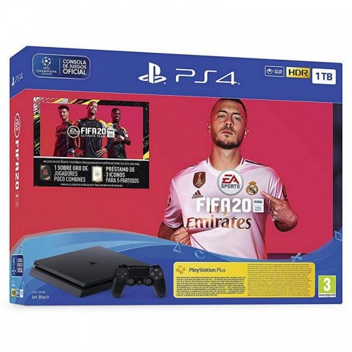 Consola Sony Ps4 Slim 1TB + FIFA 20 Ultimate Team + PS Plus 14 Días