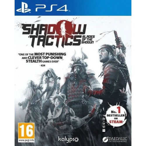 Juego Ps4 Shadow Tactics Blades of The Shogun