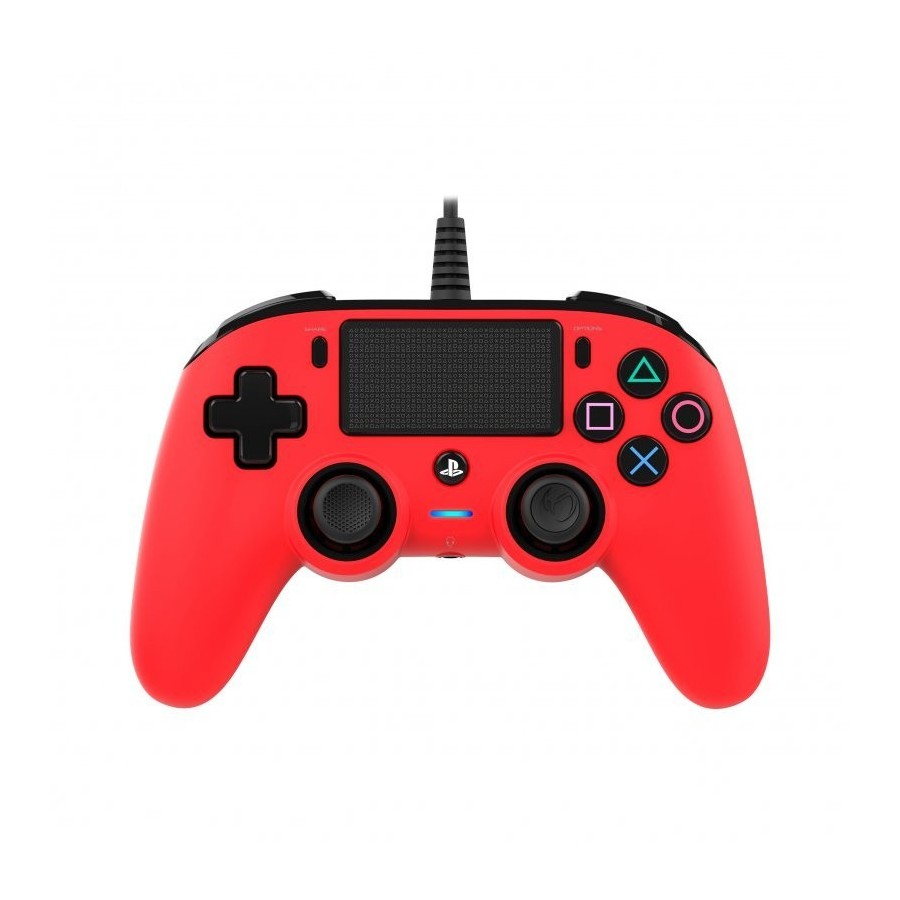 MANDO NACON PS4 COMPACTO WIRED RED OFICIAL