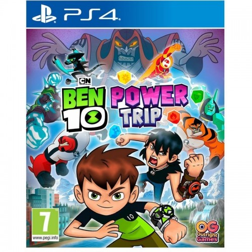 Juego Ps4 Ben 10: Power Trip