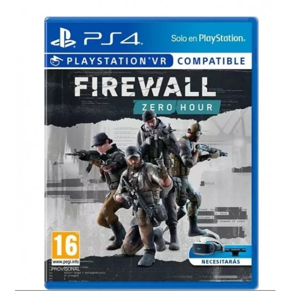 Juego Ps4 Firewall: Zero Hour VR